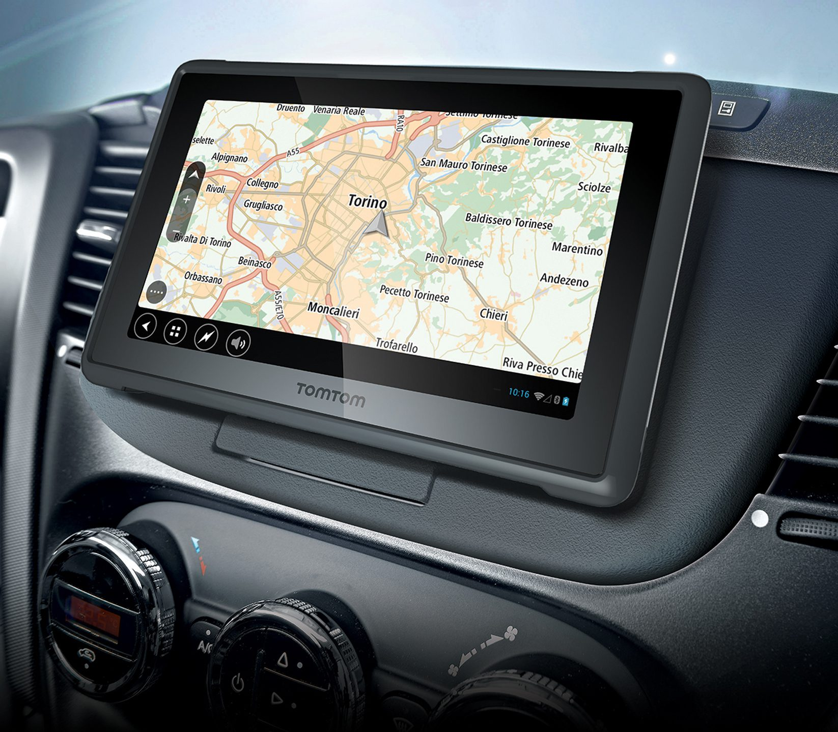TomTom Navigatie in Iveco Docking